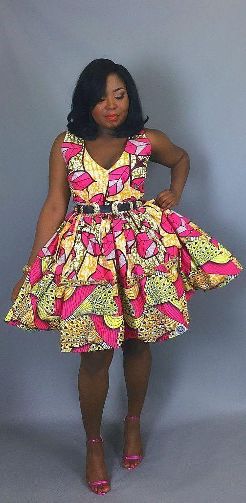 Dashki Fabric African Fashion Ankara Kitenge African: 50+ Best African Print Dresses