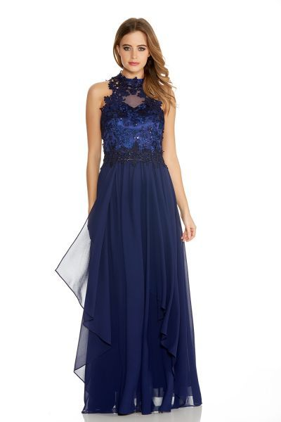 Quiz midnight blue sequin dress