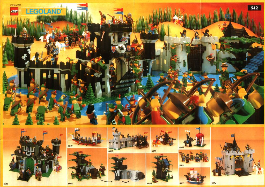 Vintage Lego Castle Forestmen Collection The Coolest Lego