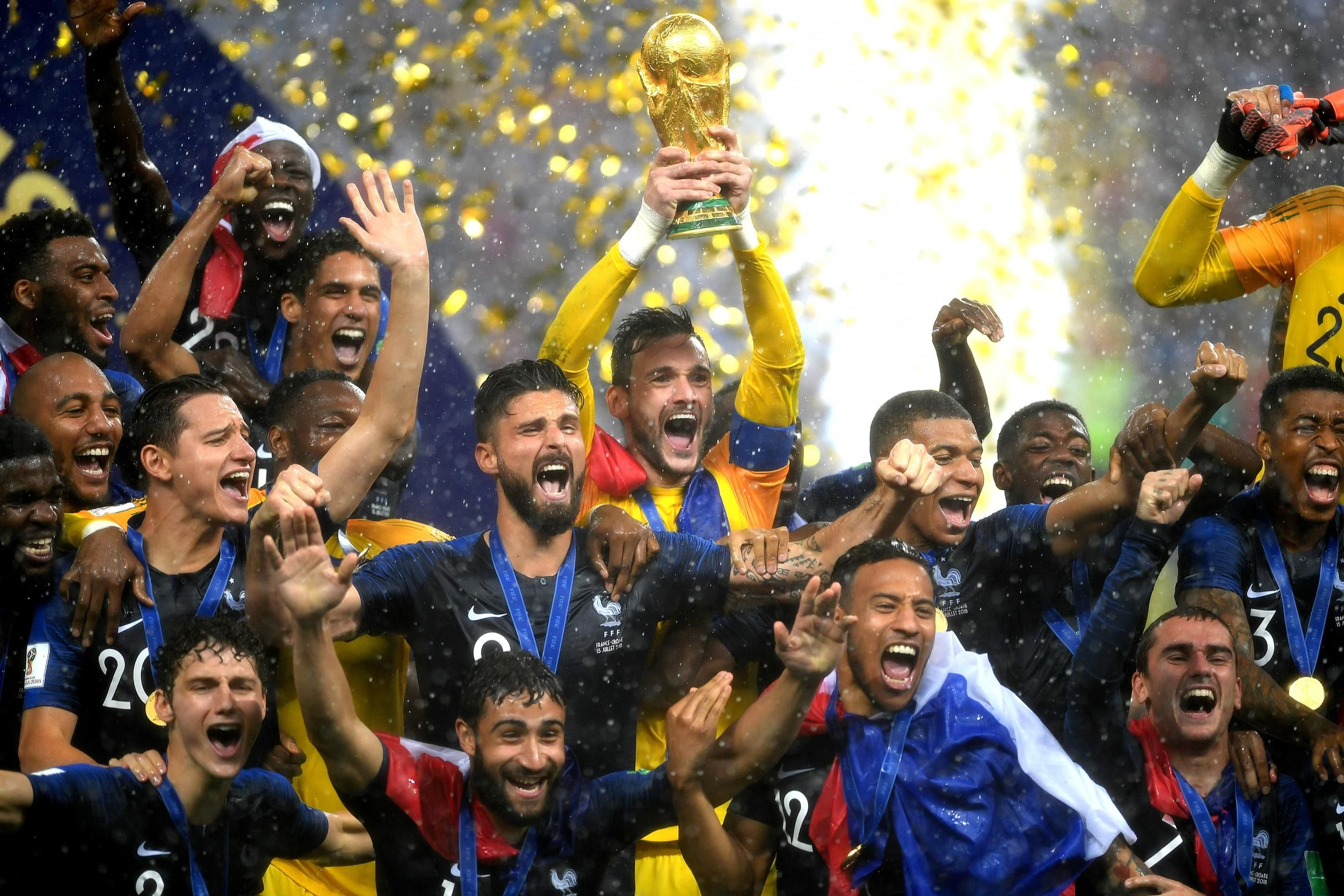Image Result For France Champion Celebration His Country World Cup France Goalkeeper Training
