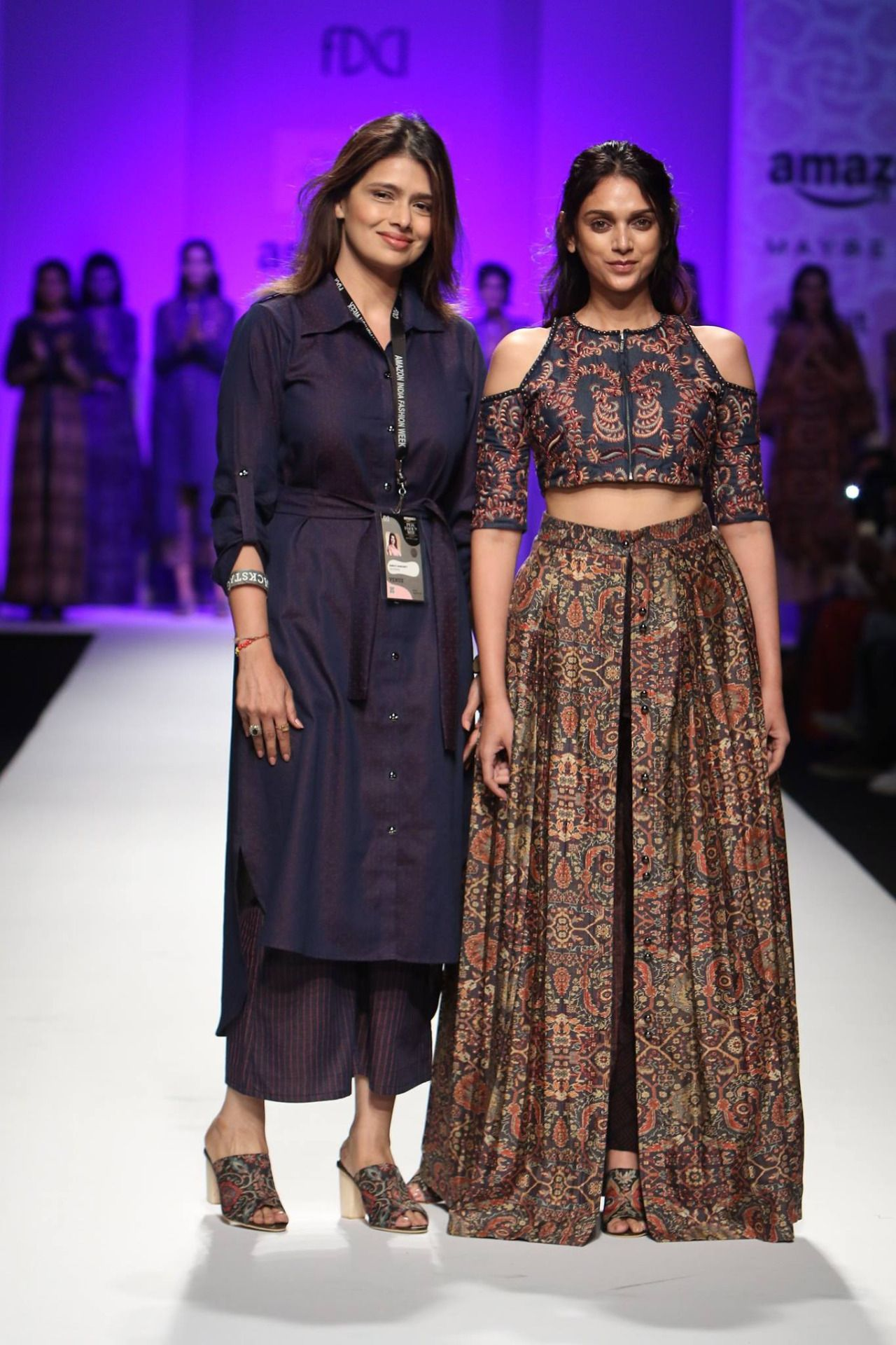 Designer Shruti Sancheti Showcased Her Latest Collection At Amazon India Fashion Week Autumn Winter 2 Indian Fashion Designers India Fashion Week India Fashion