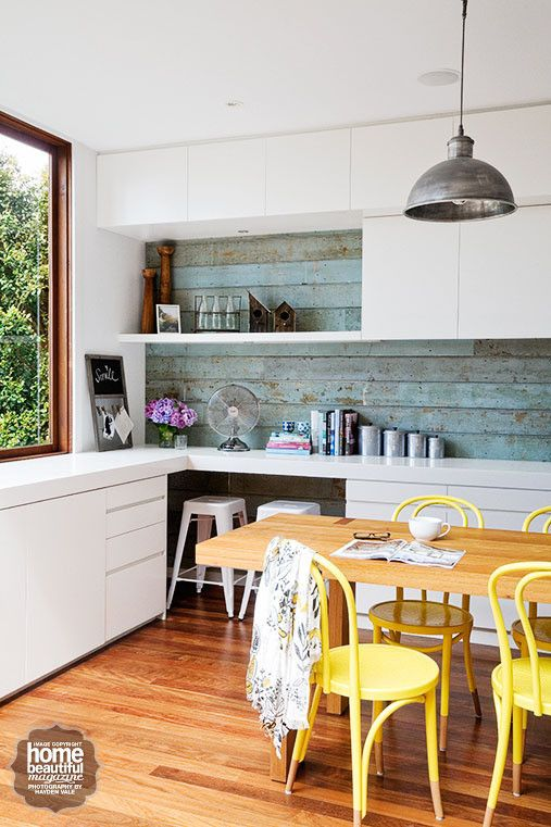 These kitchens will inspire you to be bold with bright colours ...