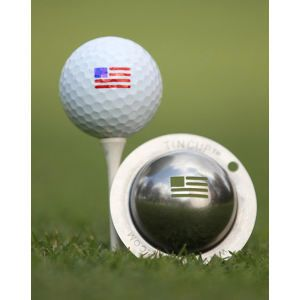 Golf Ball Marking Tool American Flag Template 100 Made In The Usa