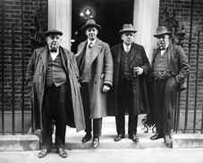 Leaders Of The Miners Federation Of Great Britain Leave 10 Downing Street On 11 March 1926 1920s Relatable First World