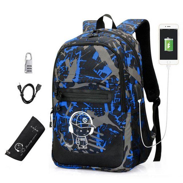 Lovely New Teens Orthopedic Schoolbag Childrens Backpack Cartoon 3d Ball Waterproof School Backpacks Men Dark Blue Satchel Knapsack 2019 Latest Style Online Sale 50% Ceiling Lights & Fans