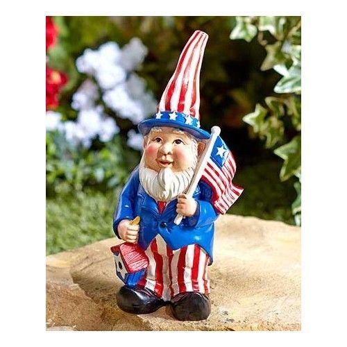 Fourth-Of-July-Gnome-Figurine-Outdoor-Yard-Decor-Holiday-Porch-Ceramic-Accessory
