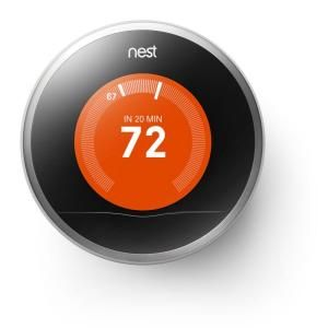 Nest, Learning Thermostat, T200577 at The Home Depot