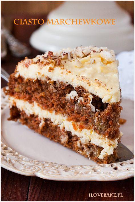 Ciasto Marchewkowe Z Kremem Kokosowym Pysznosci Cake Recipes