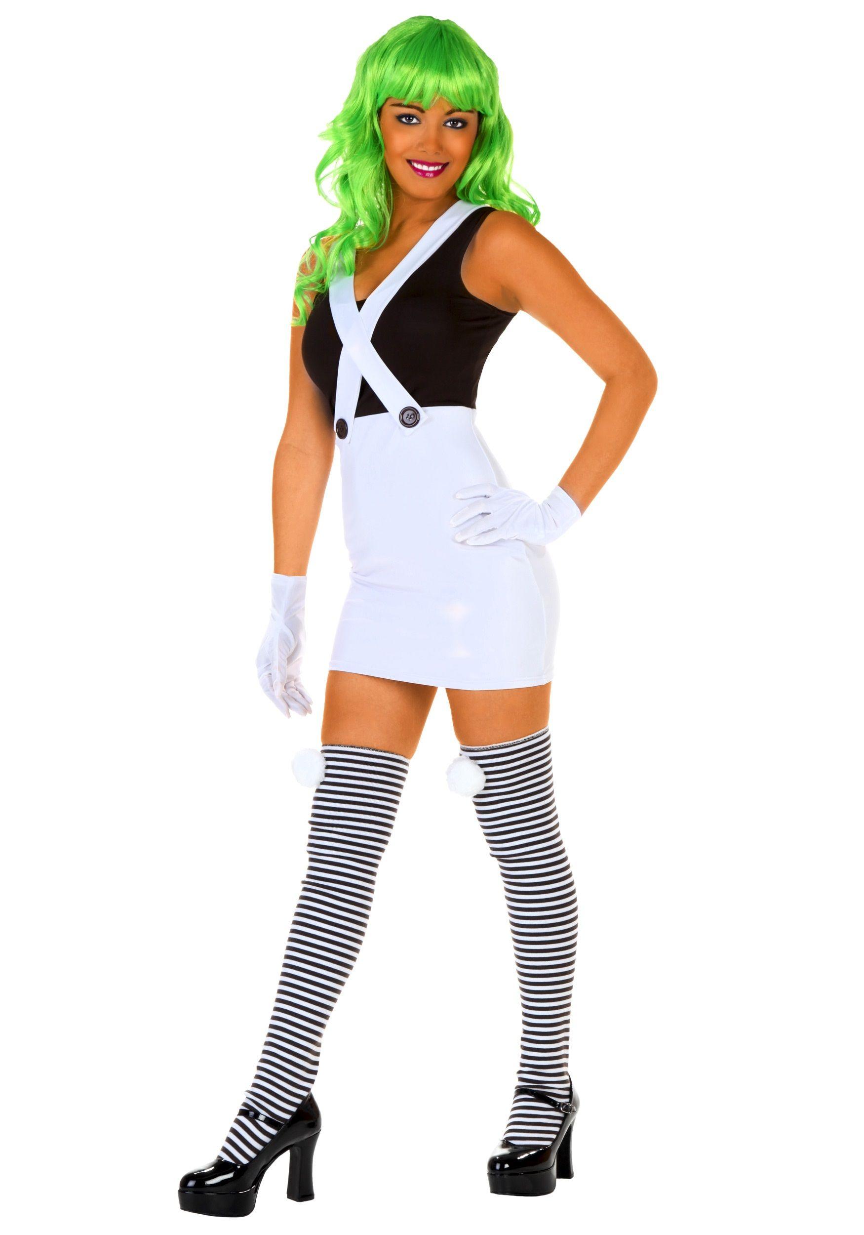 Sexy oompa loompa halloween costume