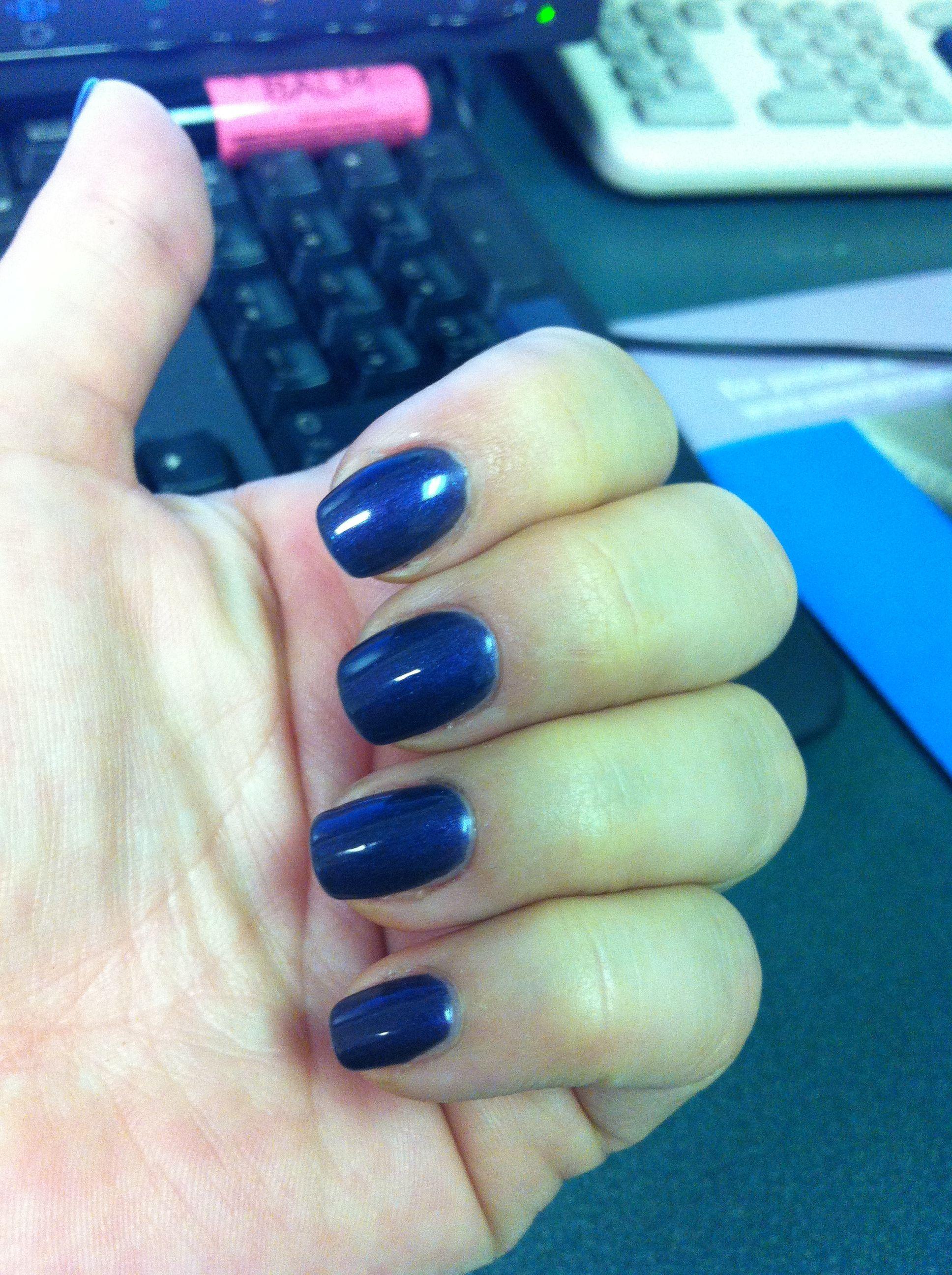 Sensationail purple orchid. Very dark purple. | Nails | Pinterest
