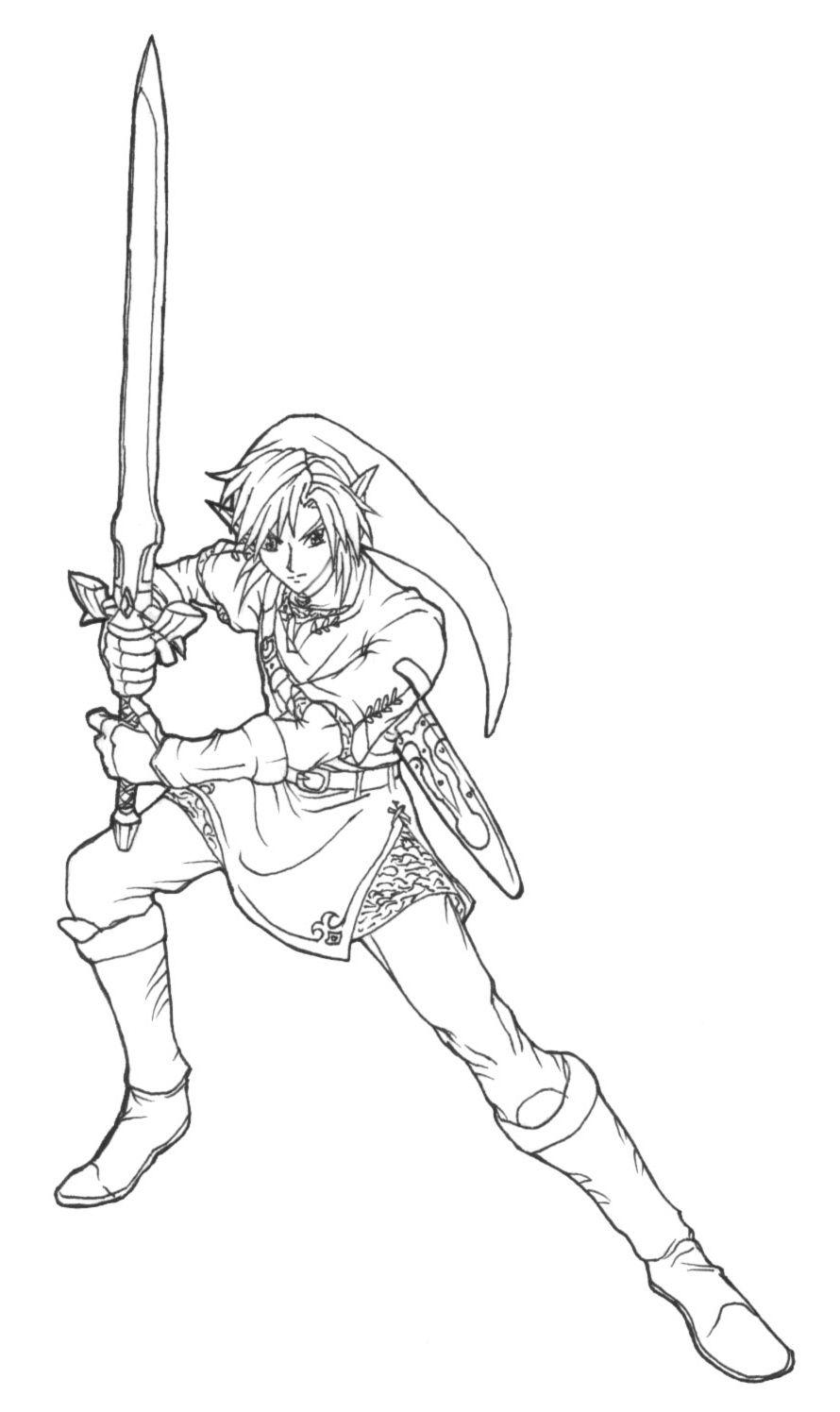 14 Elegant Zelda Coloriage Images Coloriage Zelda Dessin Zelda Coloriage