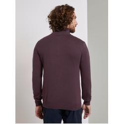Photo of Tom Tailor men's sweater with turtleneck, purple, size xxl Tom TailorTom Tailor