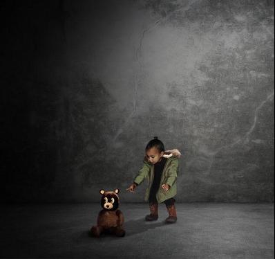 Kanye West Sohelpmegod Fan Made Cover Art Album Art North West Saint West North West