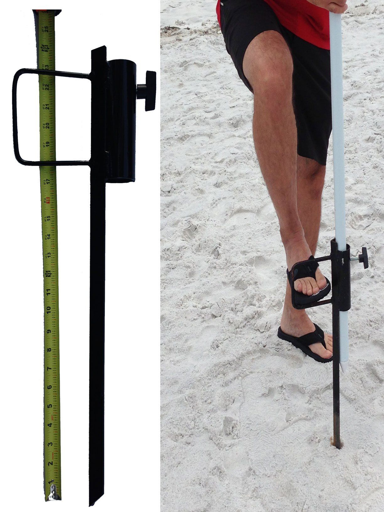 Outdoor beach umbrella stand great sand anchor best wind resistant
