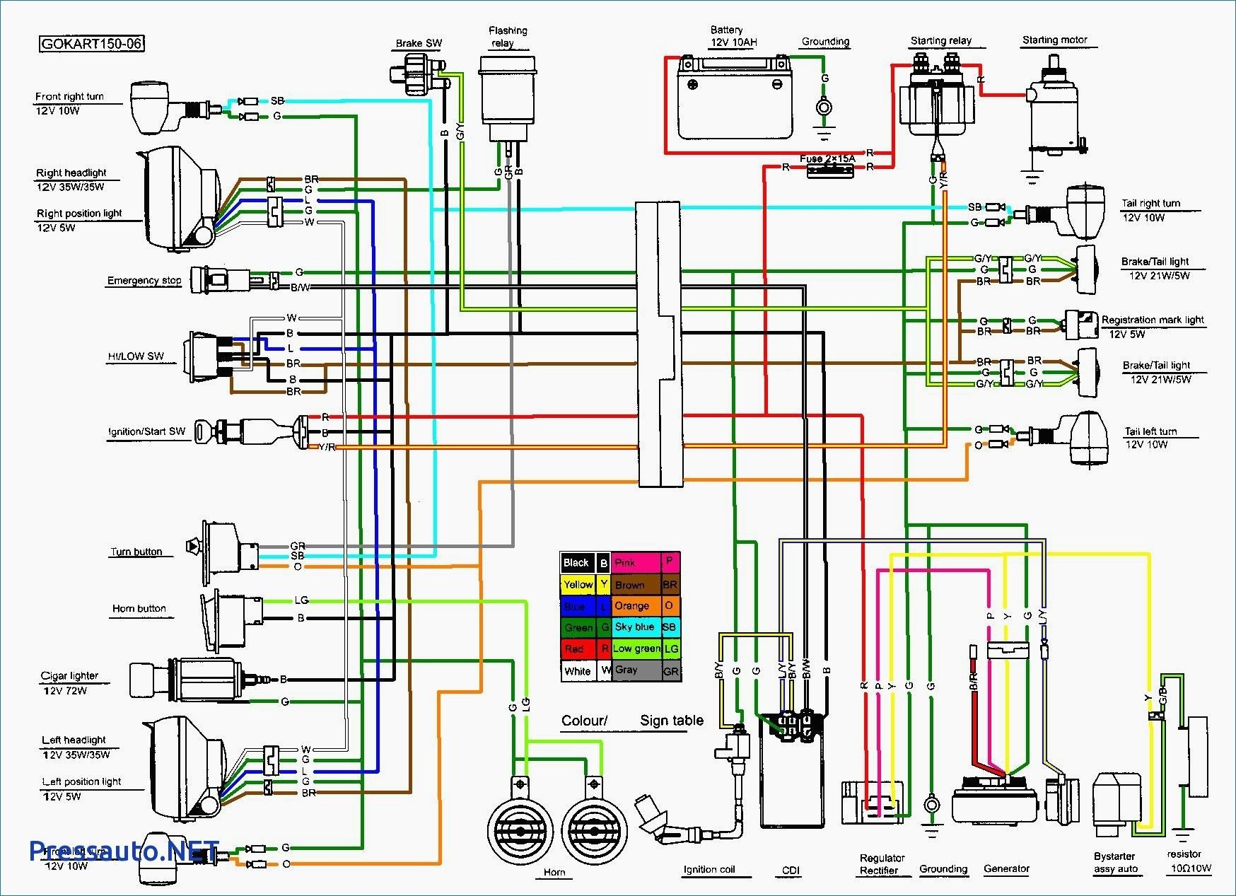 40cc Chinese Atv Wiring Diagram Unique Nice 40 Pin Cdi With 40Cc ...