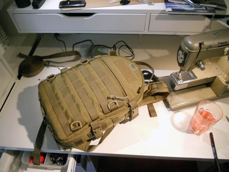 EDC Forums tutorial on how to sew your own backpack