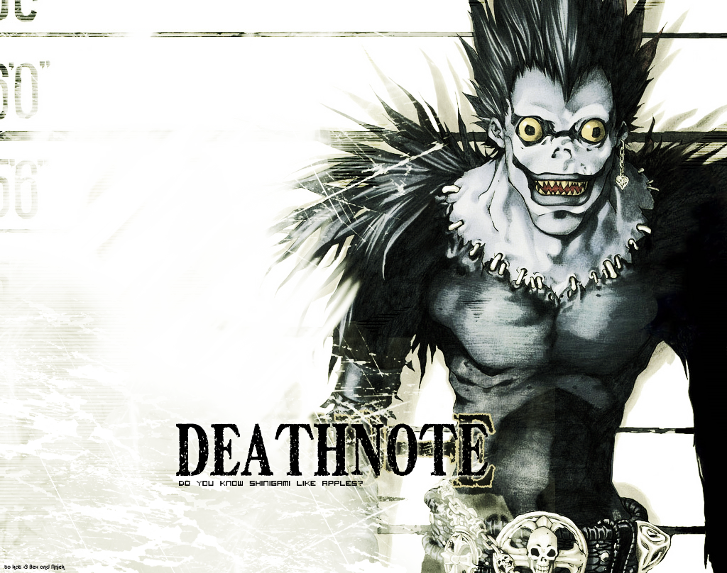Death note iphone wallpaper tumblr - Ryuk From Death Note