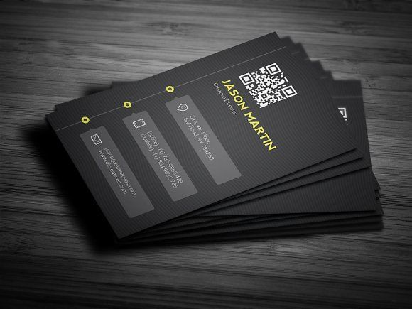 Creative Timeline Business Card by bouncy on @creativemarket