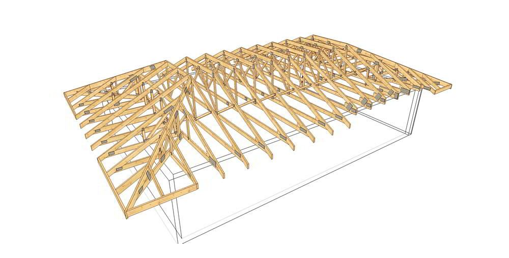 Hip roof truss google search design build our home for Hip roof design plans