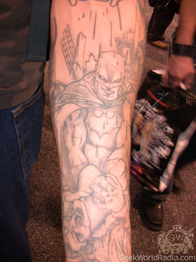 #dc #comic #tattoo #tattoos #ideas #designs #men #formen #menstattooideas