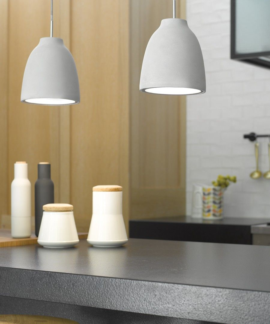 Tadao 1 flat top pendant in concrete colours and textures new from beacon concrete pendants aloadofball Choice Image