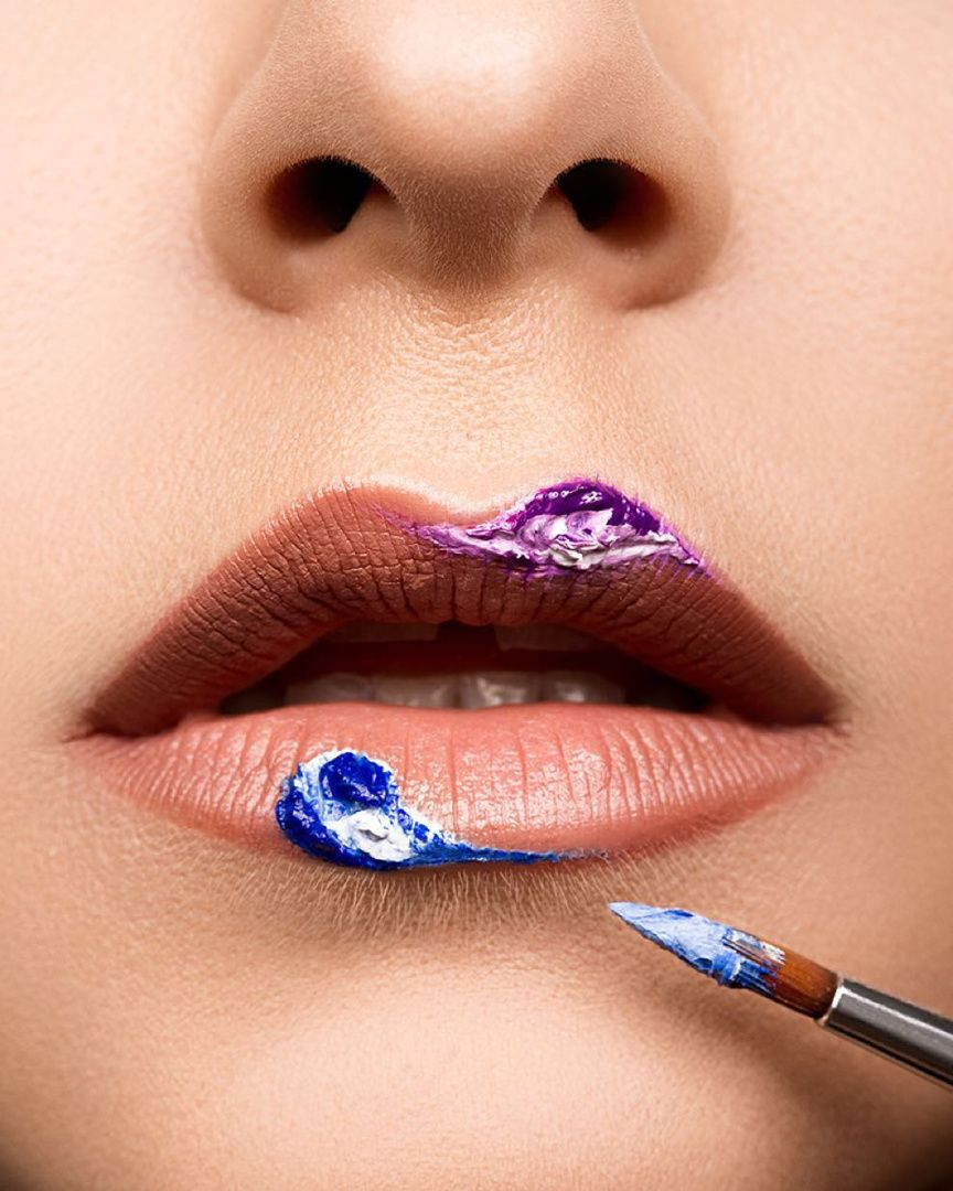 Lip art by graceoneillmua of MAKE UP FOR EVER Academy