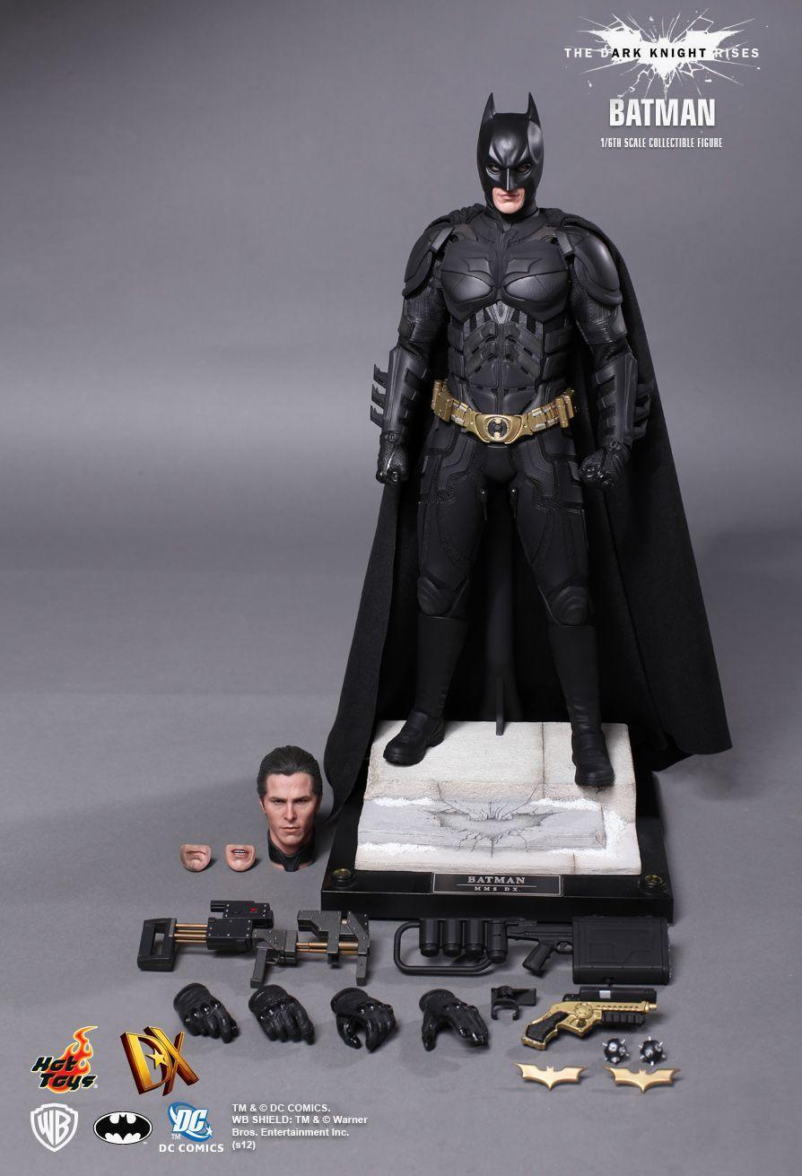 """1//6 Scale Bruce Wayne Batman Head Sculpt for 12/"""" Action Figure"""
