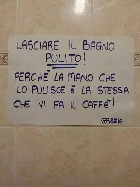 Pin di deamacri su scritte e cartelli divertenti funny humour e funny pictures - Cartelli divertenti bagno ...