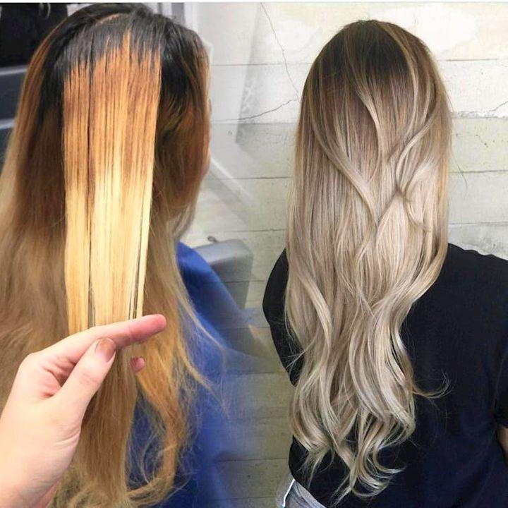 how to get rid of brassy hair brunette