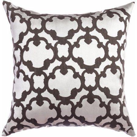 Prom Tile Decorative Pillow Gray Pillows Walmart And Products Simple Decorative Pillows At Walmart