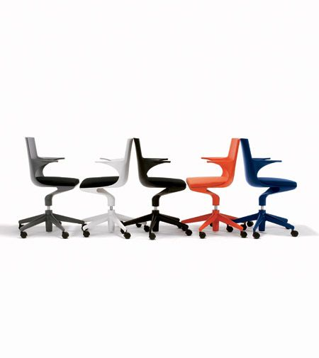 Kartell Spoon Bureaustoel.Kartell Spoon Chair By Antonio Citterio Post By The Best Chairs