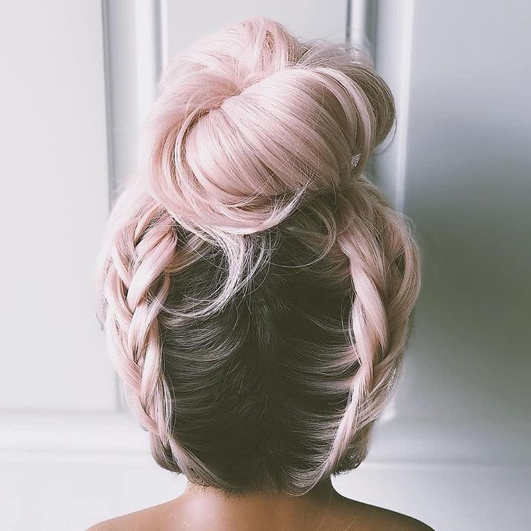 50 Bold And Subtle Ways To Wear Pastel Pink Hair Cheveux Rose Pastel Cheveux Rose Style De Cheveux