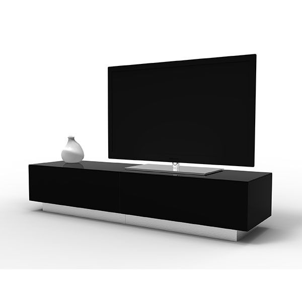 Image Of The Alphason Element Emt1700 High Gloss Black Tv Cabinet