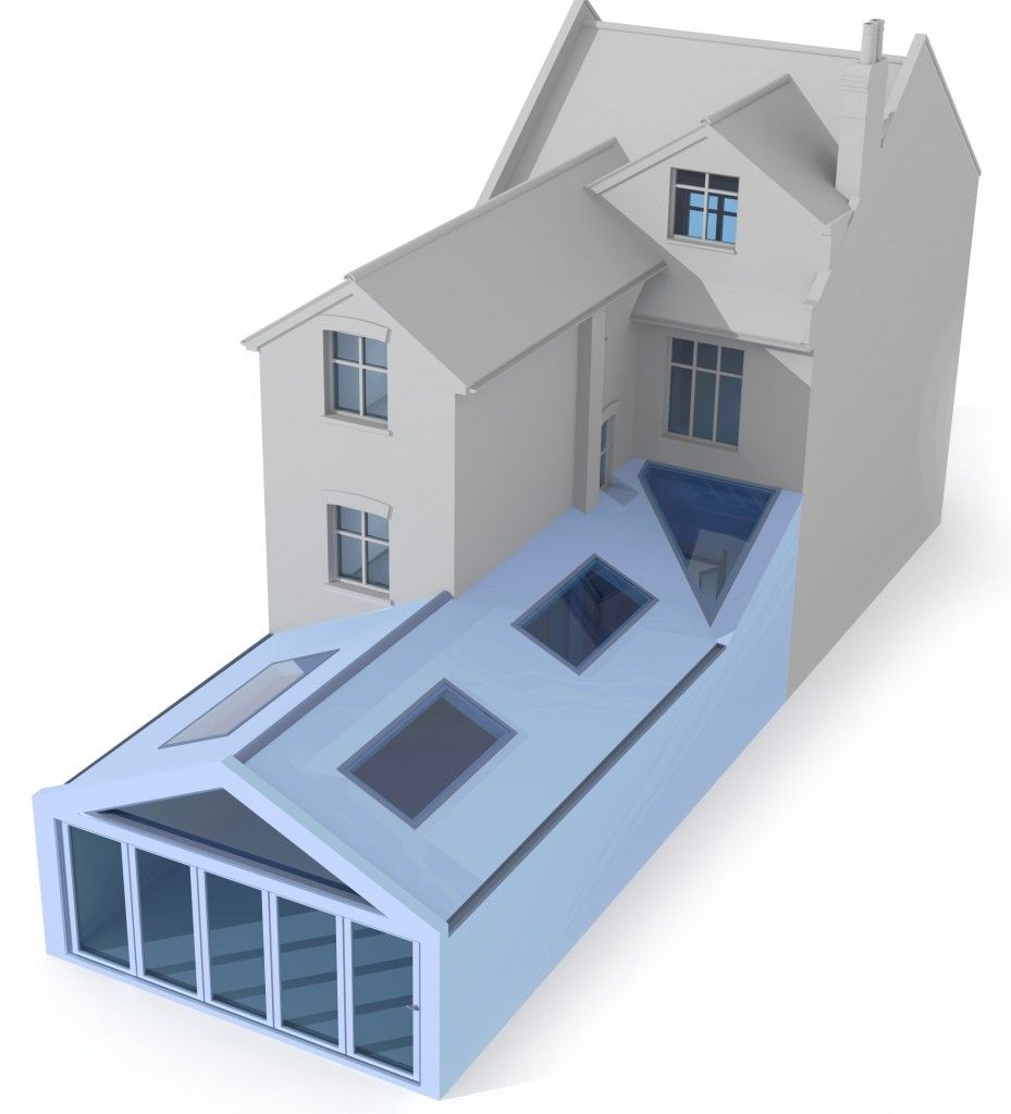 A Gable Roof Extension With A Modern Twist As The