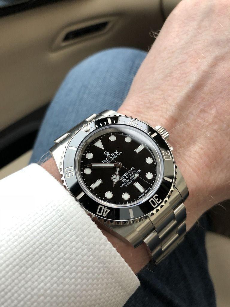 Submariner vs Submariner Date   Rolex Forums   Rolex Watch Forum ...