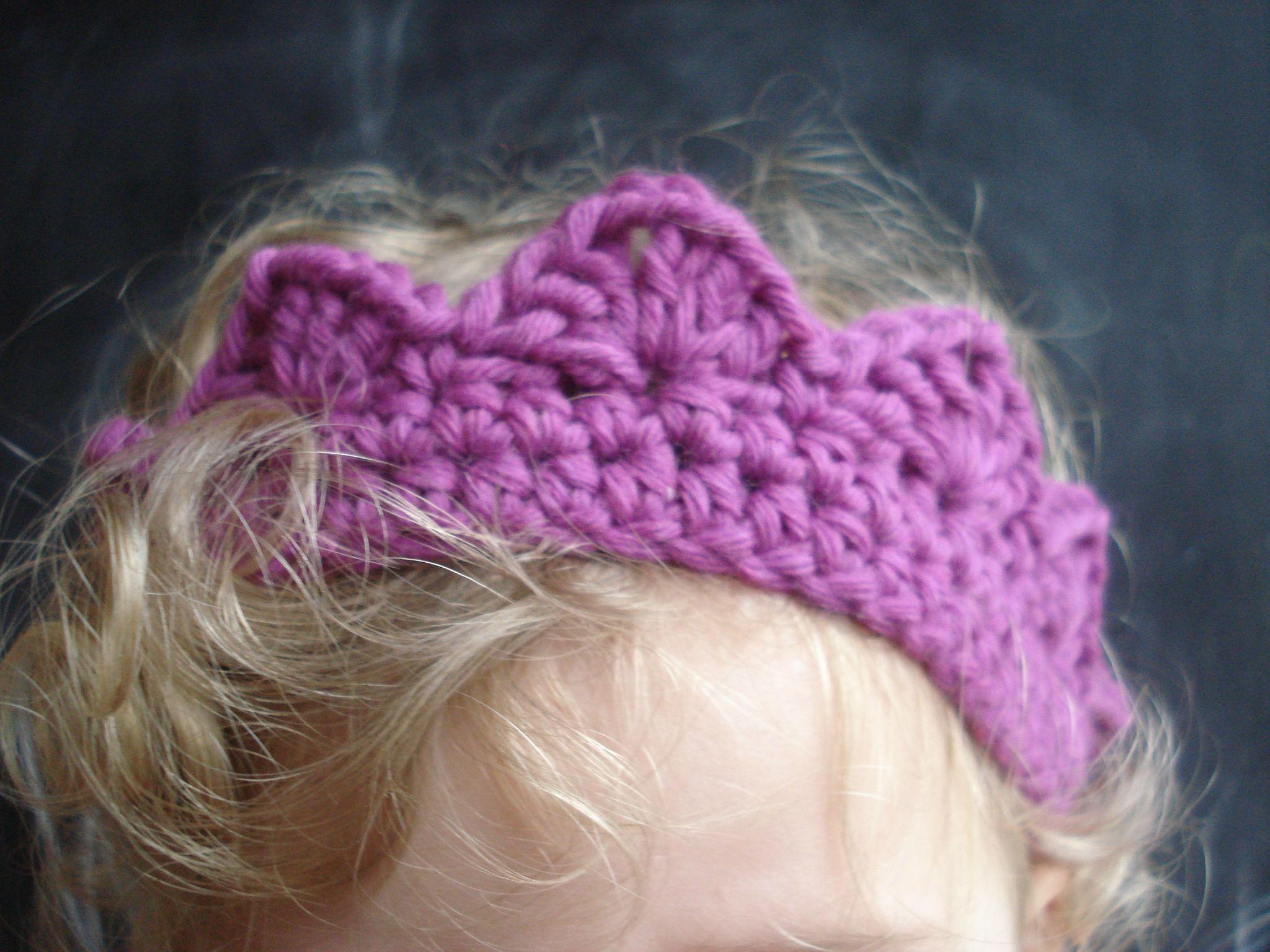Couronne Crochet Things To Make Crochet Crown Crochet