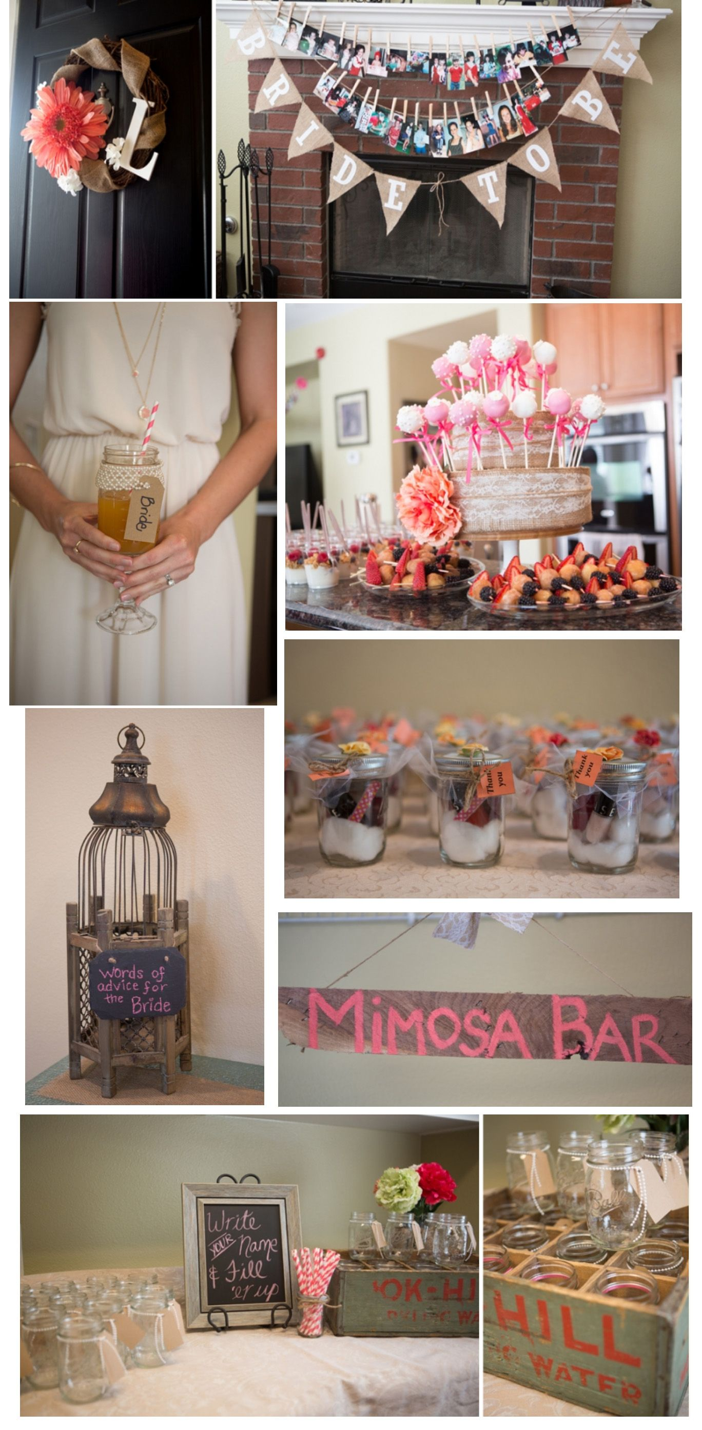 Bridal Shower: Country Chic | Bridal Shower Ideas ...