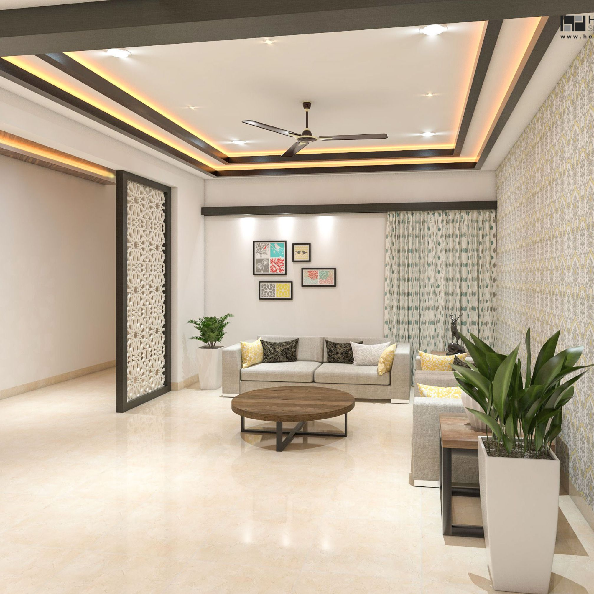 Modern Simple And Stunning False Ceiling Designs For Bedroom