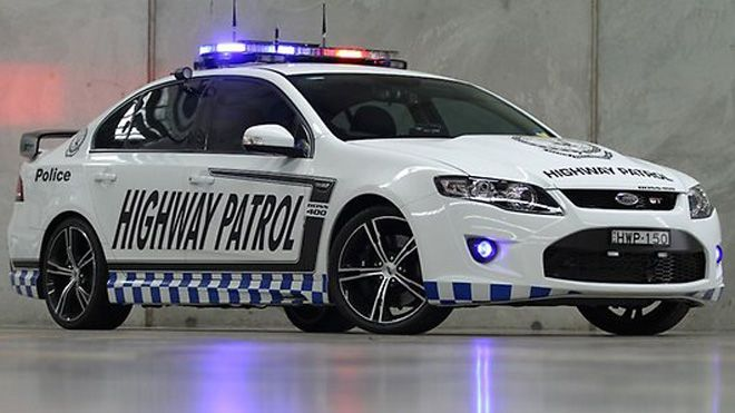 Aussies Unveil Their Most Powerful Police Car Ever Police Cars Ford Police Ford Falcon