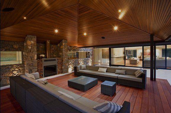 diseos de interiores con techos de madera decoracion de interiores