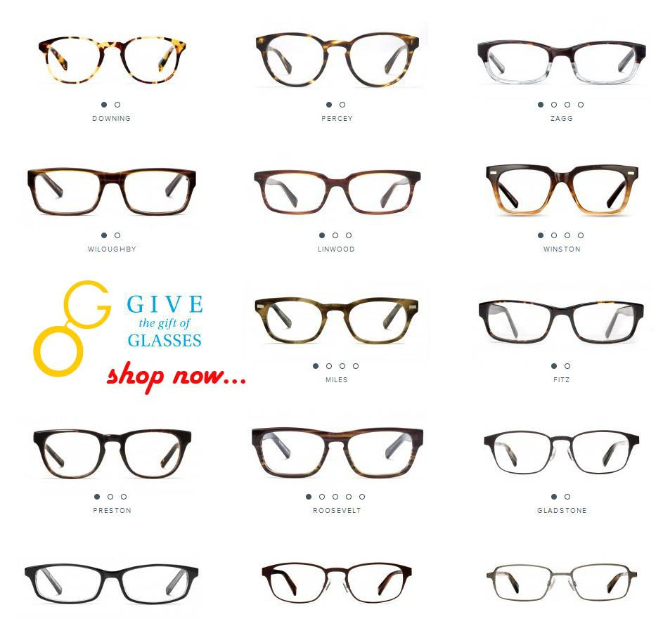 Gift Happiness To Your Loved Ones Order any style of eyeglass frames ...