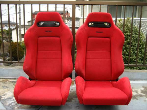 Used Honda Jdm Seat Recaro Bride Dc2 Integra Type R Civic Ek9 Black Red Carros