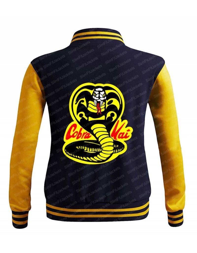 Cobra Kai Moletom Karate Kid Varsity Jacket Varsity Jacket Varsity Bomber Jacket Jackets [ 1026 x 800 Pixel ]