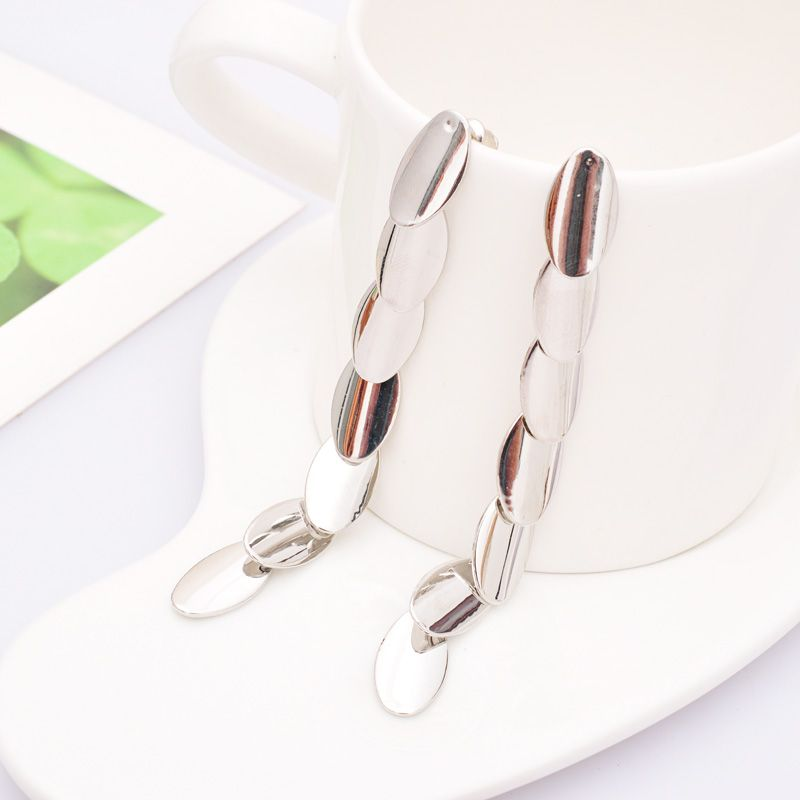 Find More Information about Hot Sale Sliver Earrings Long Design Earrings 85MM Drop Earring Dangle Earring For Women Gift,High Quality earrings picture,China earrings opal Suppliers, Cheap earring holder from Fashion Smile-Enjoy Your Life on Aliexpress.com