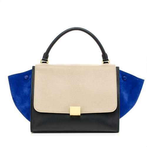 460028bde5ff This iconic Celine Trapeze is the must-have bag of the season. It features