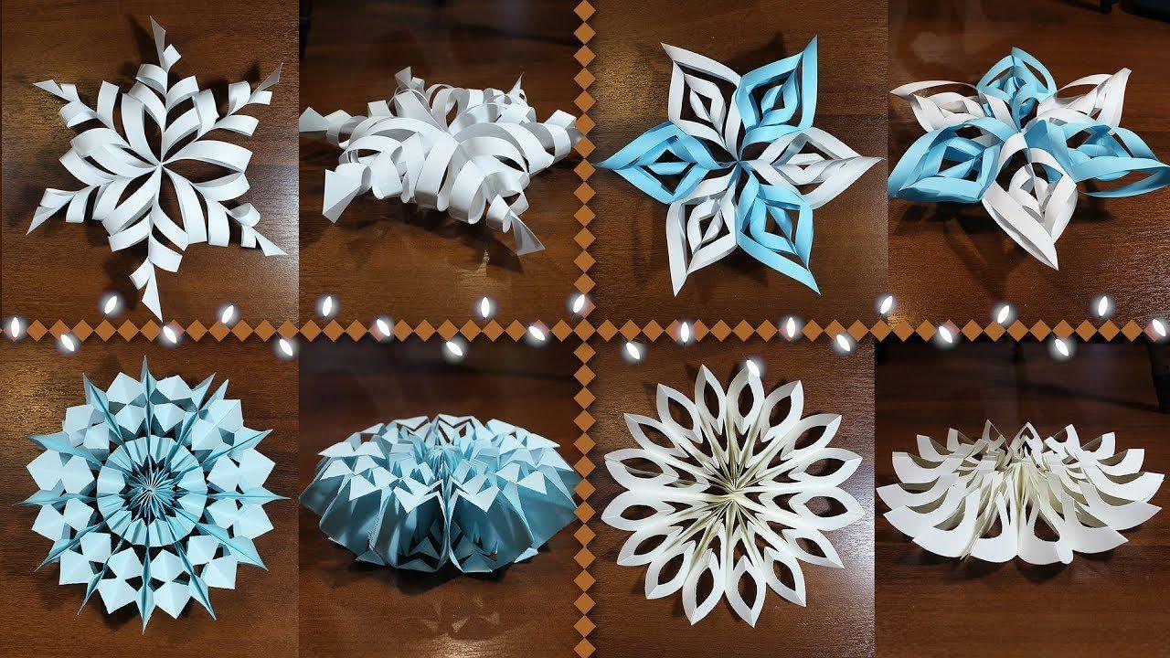 Картинки по запросу сделать объемные снежинки из бумаги