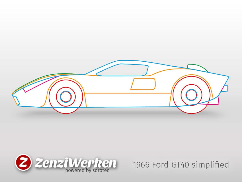 1966 Ford Gt40 Simplified Cnc Laser By Zenziwerken Thingiverse