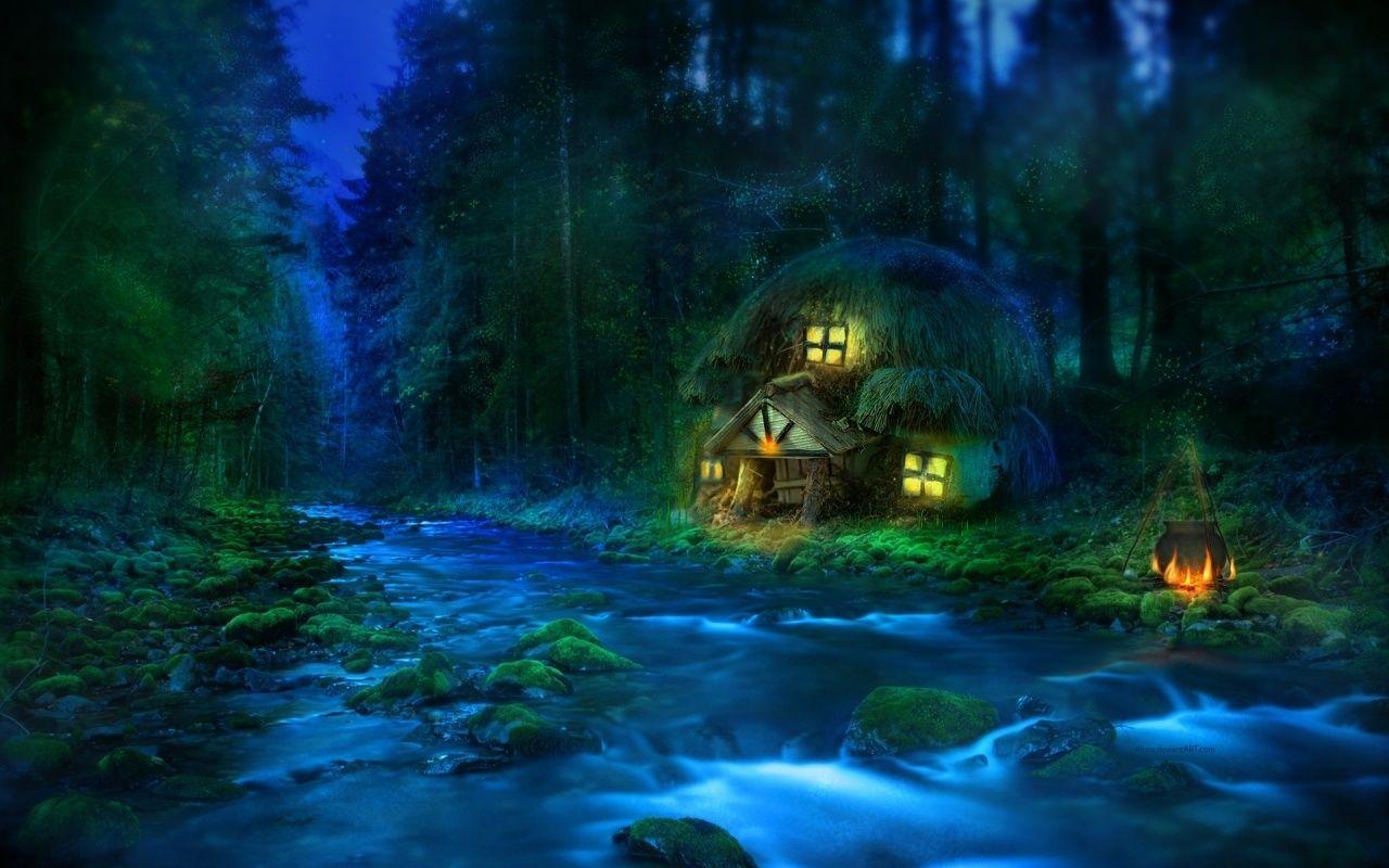 3d Fantasy Wallpaper Fantasy Landscape Fantasy Art Landscapes