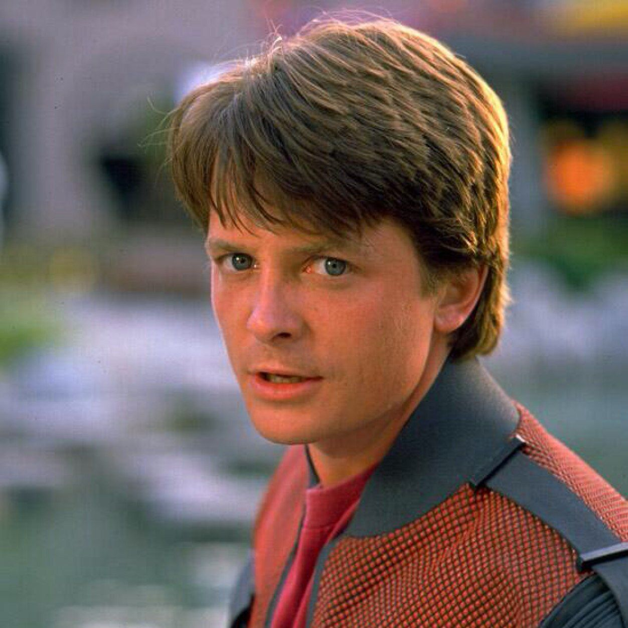 Michael J Fox As Marty Mcfly Jr Movie Back To The Future