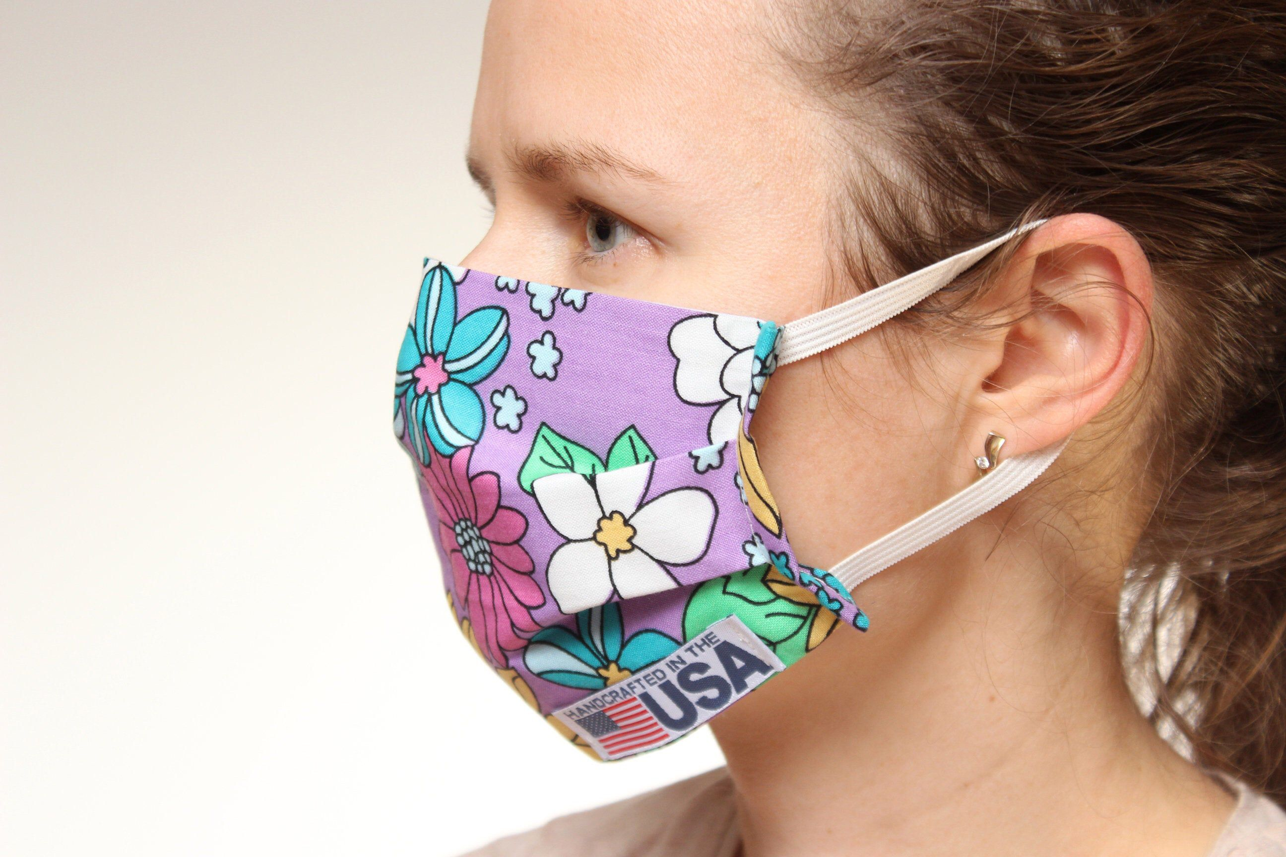 Handmade cloth face maskdust maskgroomer masknail tech
